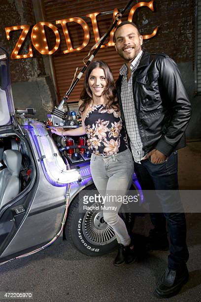 Actors Anna Louise Sargeant and Ian Verdun attend an exclusive launch party introducing Zodiac Vodka to the California market hosted by Zodiac Vodka...