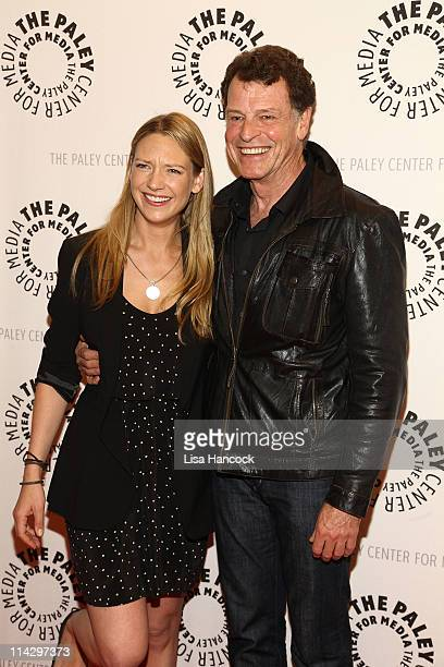 """Actors Anna Torv and John Noble attend an Evening with """"Fringe"""" at The Paley Center for Media on May 17, 2011 in New York City."""