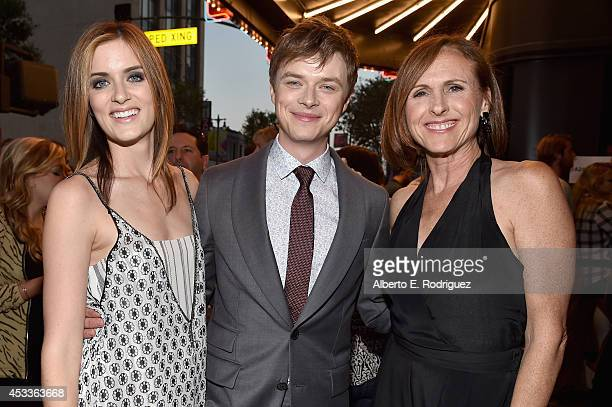 Actors Anna Wood Dane DeHaan and Molly Shannon attend the screening of 'Life After Beth' with Father John Misty in concert during Sundance NEXT FEST...