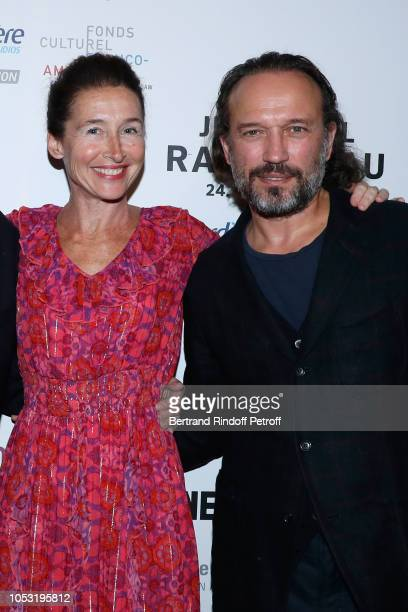 Actors Anne Brochet and Vincent Perez attend the JeanPaul Rappeneau's Retrospective with the screening of the movie Cyrano de Bergerac at...