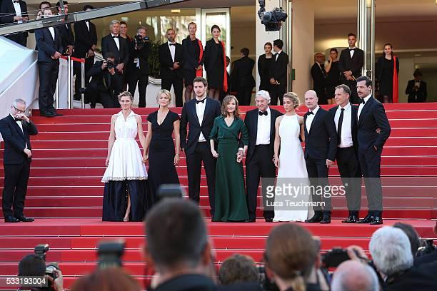 Actors Anne Consigny Virginie Efira Jonas Bloquet Isabelle Huppert director Paul Verhoeven actors Alice Isaaz Christian Berkel Charles Berling and...