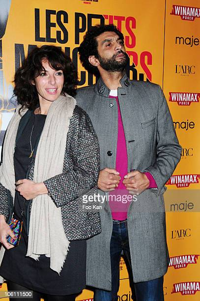 Actors Anne de Petrini and Ramzy Bedia attend 'Les Petits Mouchoirs' Premiere After Party at L'Arc Club on October 14 2010 in Paris France