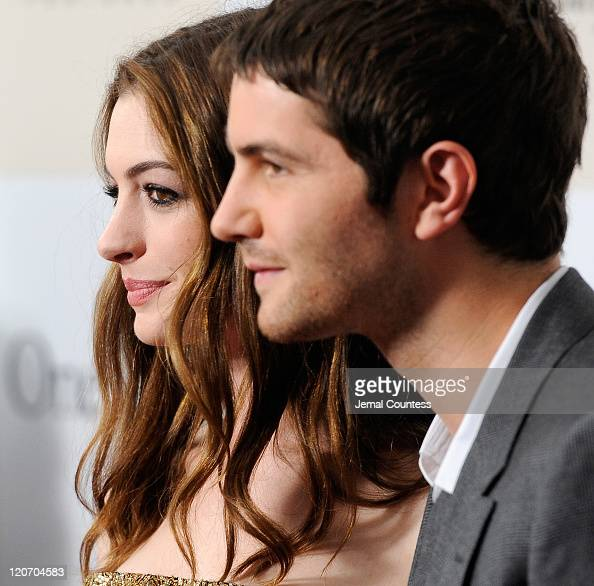 Actors Anne Hathaway And Jim Sturgess On The Red Carpet At