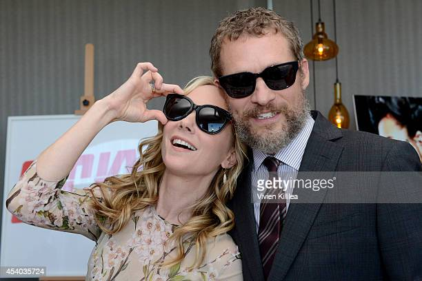 Actors Anne Heche and James Tupper attend Kari Feinstein's Style Lounge presented by Paragon at Andaz West Hollywood on August 23 2014 in Los Angeles...