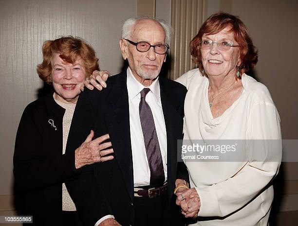 Actors Anne Jackson Eli Wallach and Anne Meara at the 8th Annual American Friends of Rabin Medical Center Benefit Gala held at Cipriani Wall Street...