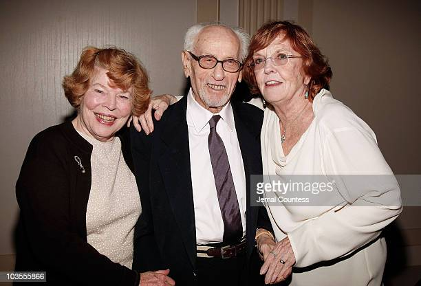 Actors Anne Jackson, Eli Wallach and Anne Meara at the 8th Annual American Friends of Rabin Medical Center Benefit Gala held at Cipriani Wall Street...