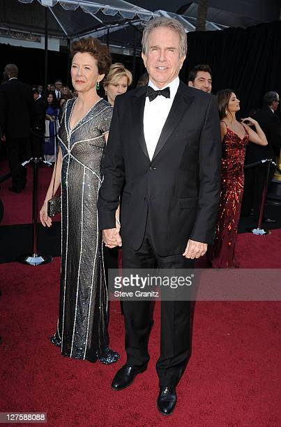 Actors Annette Bening and Warren Beatty arrive at the 83rd Annual Academy Awards held at the Kodak Theatre on February 27 2011 in Hollywood California