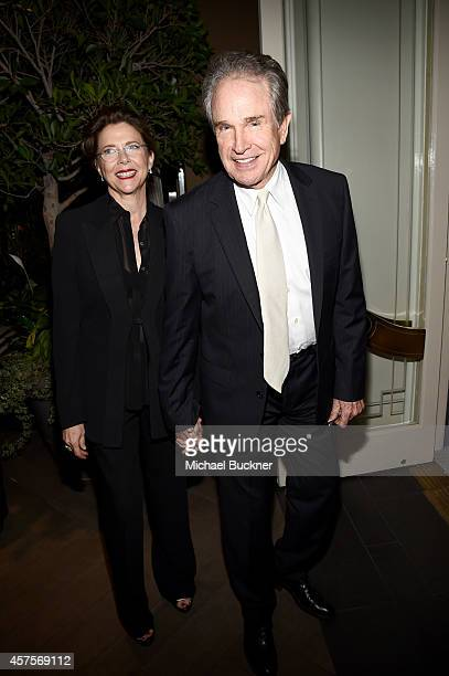 Actors Annette Bening and Warren Beatty attend ELLE's 21st Annual Women in Hollywood Celebration at the Four Seasons Hotel on October 20 2014 in...