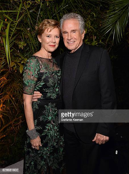 Actors Annette Bening and Warren Beatty attend the 2016 GQ Men of the Year Party at Chateau Marmont on December 8 2016 in Los Angeles California