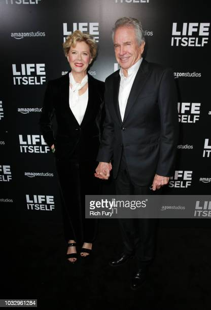 """Actors Annette Bening and Warren Beatty attend the premiere of Amazon Studios' """"Life Itself"""" at ArcLight Cinerama Dome on September 13, 2018 in..."""