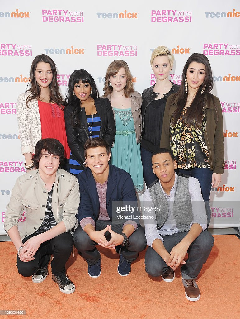"""Party With Degrassi"" At Cast-Hosted Screening Event for TeenNick's Award-Winning Drama ""Degrassi"""