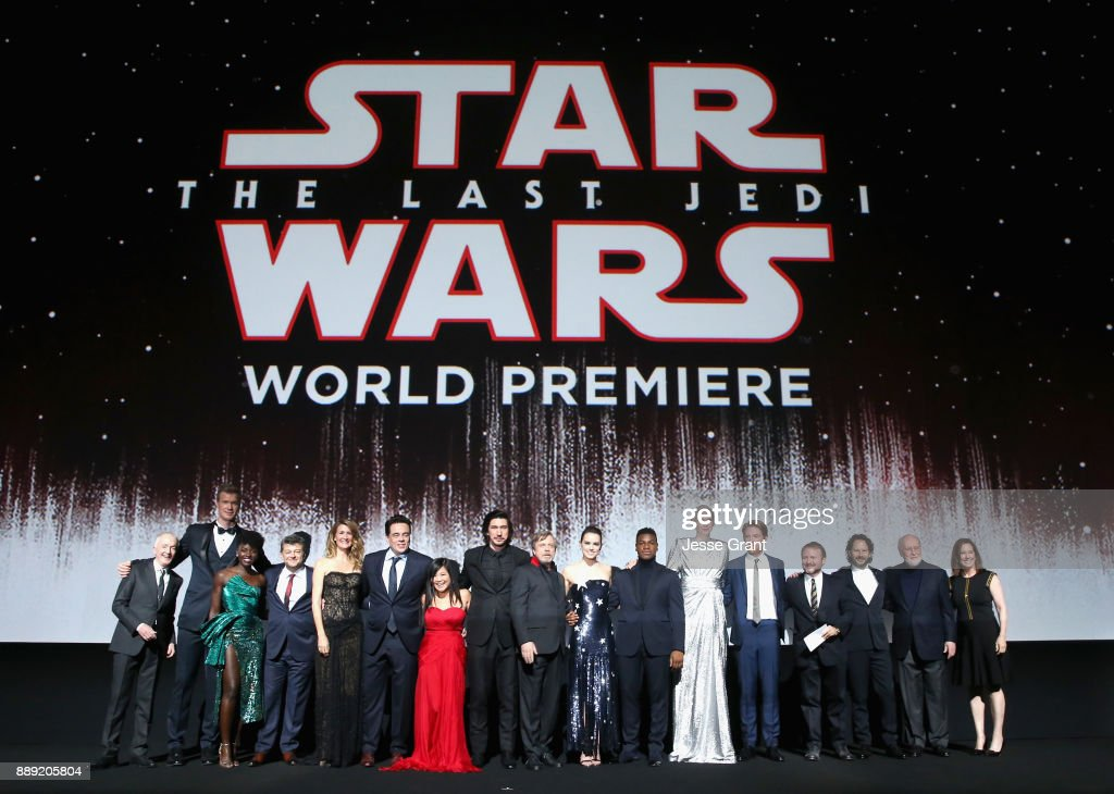 Star Wars: The Last Jedi Premiere : News Photo