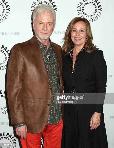 Actors Anthony Geary and Genie Francis arrive at The Paley Center For Media Presents 'General Hospital Celebrating 50 Years And Looking Forward' at...