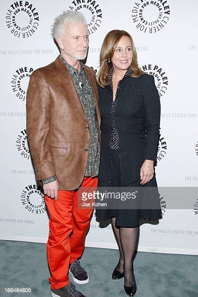 Actors Anthony Geary and Genie Francis attend 'General Hospital celebrating 50 years and looking forward' at The Paley Center for Media on April 12...
