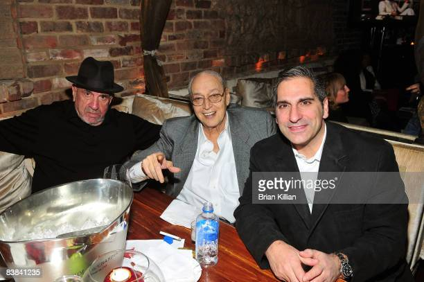 Actors Anthony Polemeni Tony Lip and guest attend a screening of HarryA Communication Breakdown at the Chakra on November 26 2008 in Paramus New...