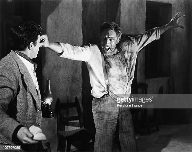 Actors Anthony Quinn And Alan Bates In the film Zorba The Greek by Michael Cacoyannis