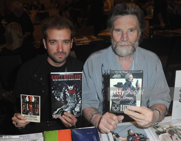 Actors Anton Troy and Vernon Wells attend The Hollywood Show held at Westin LAX Hotel on February 10 2018 in Los Angeles California
