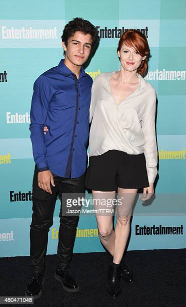 Actors Aramis Knight and Emily Beecham attend Entertainment Weekly's ComicCon 2015 Party sponsored by HBO Honda Bud Light Lime and Bud Light Ritas at...