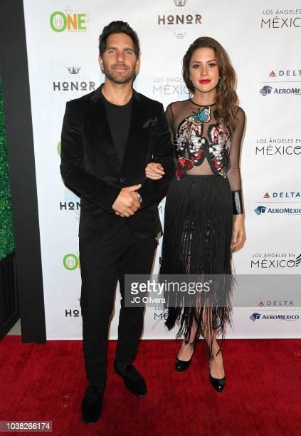Actors Arap Bethke and Ivana De Maria attend Los Angeles En Mexico at Casita Hollywood on September 22 2018 in Los Angeles California