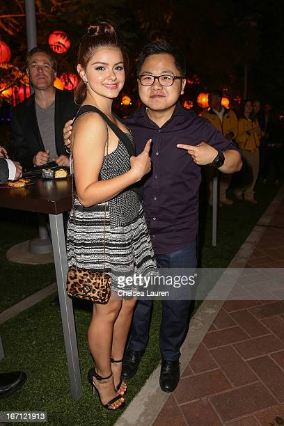 Actors Ariel Winter and Matthew Moy attend City Year Los Angeles' spring break destination education at Sony Pictures Studios on April 20 2013 in...