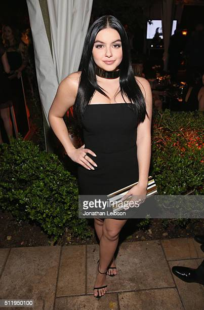 Actors Ariel Winter attends Vanity Fair and FIAT Young Hollywood Celebration at Chateau Marmont on February 23 2016 in Los Angeles California