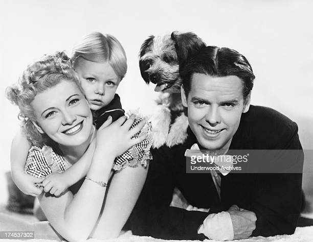 Actors Arthur Lake and Penny Singleton will play Dagwood and Blondie in the Columbia Pictures film of Chic Young's popular comic strip Blondie...