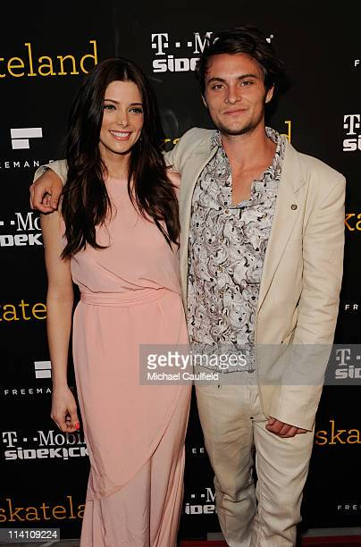 Actors Ashley Greene and Shiloh Fernandez attend the 'Skateland' Los Angeles Premiere at ArcLight Cinemas on May 11 2011 in Hollywood California