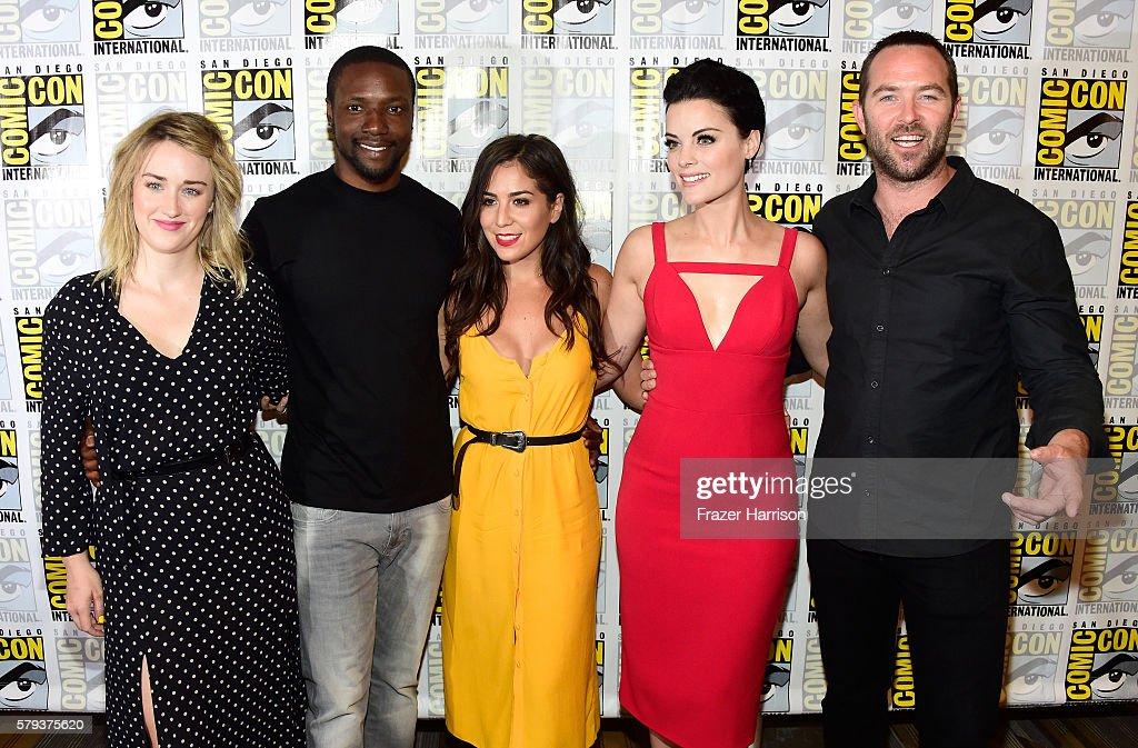 "Comic-Con International 2016 - ""Blindspot"" Press Line : News Photo"