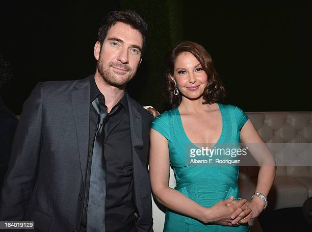 Actors Ashley Judd and Dylan McDermott attend the after party for the premiere of FilmDistrict's 'Olympus Has Fallen' at Lure on March 18 2013 in...