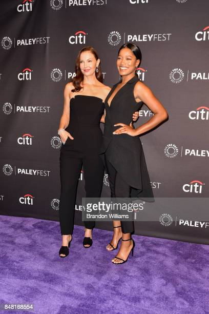 Actors Ashley Judd and Keke Palmer attends For Media's 11th Annual PaleyFest Fall TV Previews for EPIX at The Paley Center for Media on September 16...