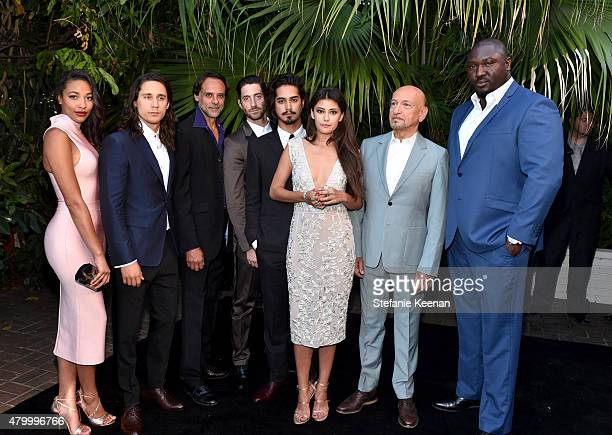 Actors Ashley Madekwe Peter Gadiot Alexander Siddig Iddo Goldberg Avan Jogia Sibylla Deen Ben Kingsley and Nonso Anozie attend the Vainty Fair and...