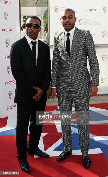Actors Ashley Walters and Kane Robinson attend The Arqiva British Academy Television Awards 2012 at The Royal Festival Hall on May 27 2012 in London...