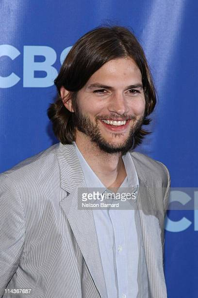 Actors Ashton Kutcher attends the 2011 CBS Upfront at The Tent at Lincoln Center on May 18 2011 in New York City