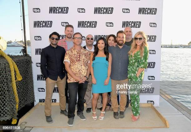 Actors Asif Ali Zach Cregger Will Greenberg executive producer Jesse Hara actors Ally Maki Brooke Dillman Brian Sacca Will McLaughlin and Jessica...