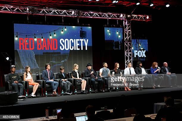 Actors Astro Ciara Bravo Nolan Sotillo Griffin Gluck Zoe Levin Charlie Rowe Wilson Cruz Rebecca Rittenhouse Dave Annable and Octavia Spencer and...