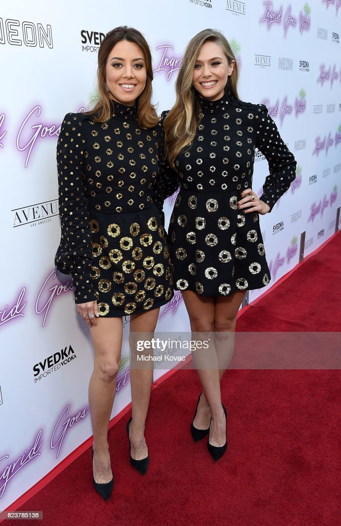 """Ingrid Goes West"" Presented By SVEDKA Vodka And Avenue Los Angeles : Foto jornalística"