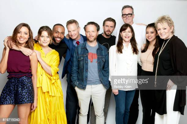 Actors Aubrey Plaza Rachel Keller Jeremie Harris Bill Irwin writer/producer Noah Hawley actor Dan Stevens producers John Cameron Lauren Shuler Donner...