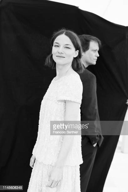 Actors August Diehl and Valerie Pachner from the movie 'A Hidden Life' pose for a portrait on May 19 2019 in Cannes France