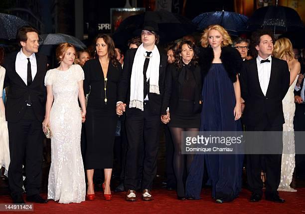 Actors August Diehl, Josephine de La Baume, Karole Rocher, Pete Doherty, Director Sylvie Verheyde, actress Lily Cole and actor Guillaume Gallienne...