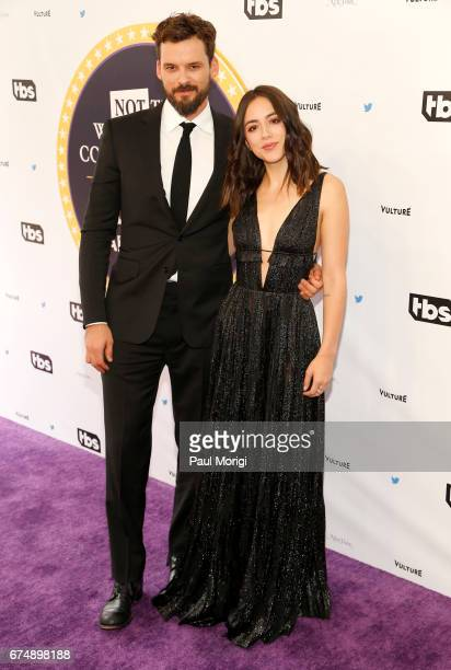 Actors Austin Nichols and Chloe Bennet attend Not the White House Correspondents' Dinner presented by Full Frontal With Samantha Bee at DAR...