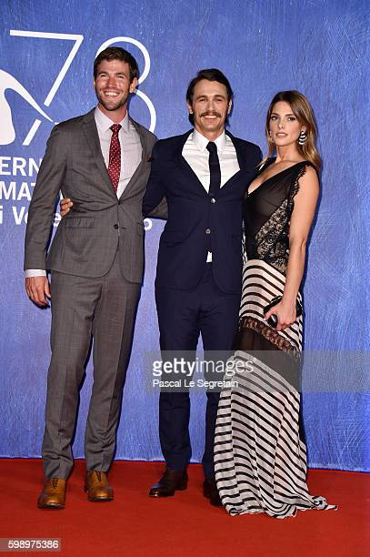 Actors Austin Stowell actor and director James Franco and actress Ashley Greene attend the premiere of 'In Dubious Battle' during the 73rd Venice...