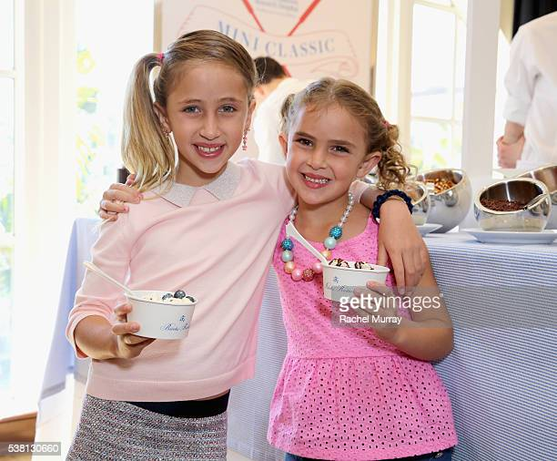 Actors Ava Kolker and Lexy Kolker attend Brooks Brothers Mini Classic to Benefit St Jude Children's Research Hospital at Brooks Brothers Beverly...
