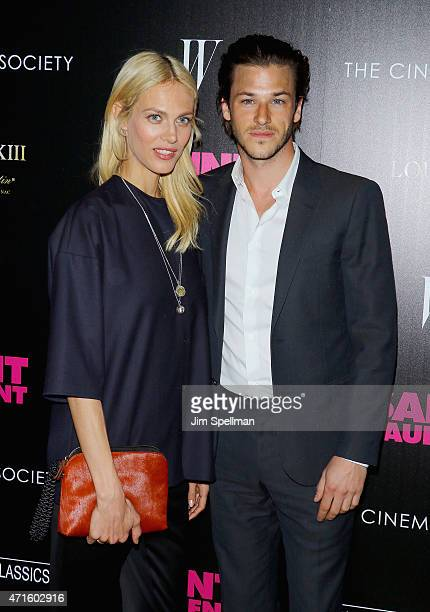 Actors Aymeline Valade and Gaspard Ulliel attend The Cinema Society with W Magazine and Louis XIII Cognac host a screening of Sony Pictures Classics'...