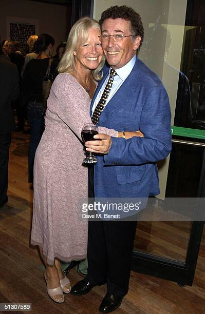 Actors Babs Powell and Robert Powell attend the charity gala performance celebrity auction for Best Of The Empire at the Hackney Empire on September...