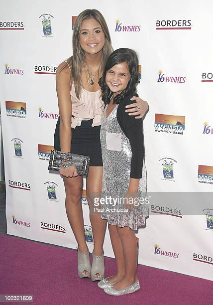 Actors Bailee Madison Nicole Gale Anderson arrive at the '16 Wishes' Premiere at The Harmony Gold Theatre on June 22 2010 in Los Angeles California