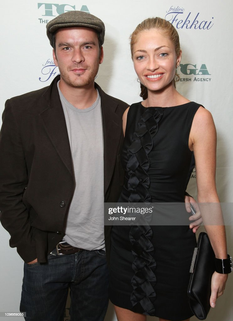 Actors Balthazar Getty and Rebecca Gayheart attends The Gersh Agency EMMY Party w/Special Guest Frederic Fekkai held at The Terrace at Sunset Tower Hotel on September 14, 2007 in Los Angeles, California.
