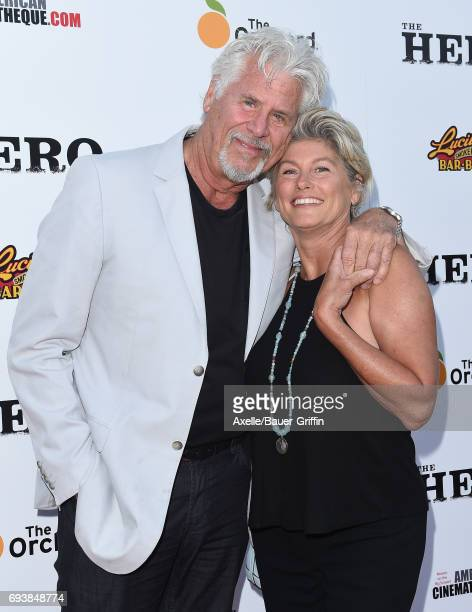 Actors Barry Bostwick and Sherri Jensen Bostwick arrive at the Los Angeles premiere of 'The Hero' at the Egyptian Theatre on June 5 2017 in Hollywood...