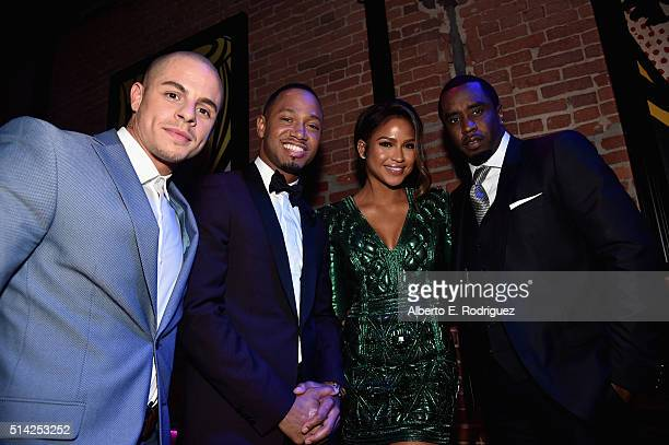 Actors Beau Casper Smart Terrence Jenkins Cassie Ventura and Sean 'Diddy' Combs attend the after party for the premiere of Lionsgate's 'The Perfect...