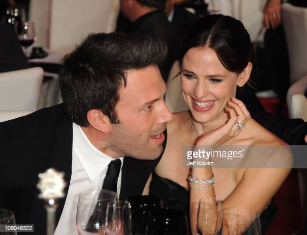 Actors Ben Affleck and Jennifer Garner attend the 16th Annual Critics' Choice Movie Awards at the Hollywood Palladium on January 14 2011 in Los...