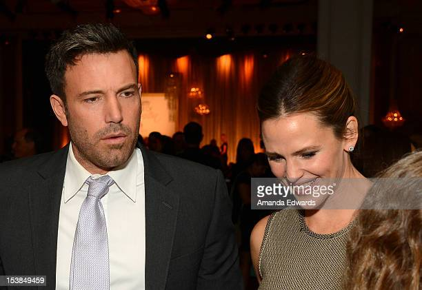 Actors Ben Affleck and Jennifer Garner attend Variety's 4th Annual Power of Women Event Presented by Lifetime at the Beverly Wilshire Four Seasons...